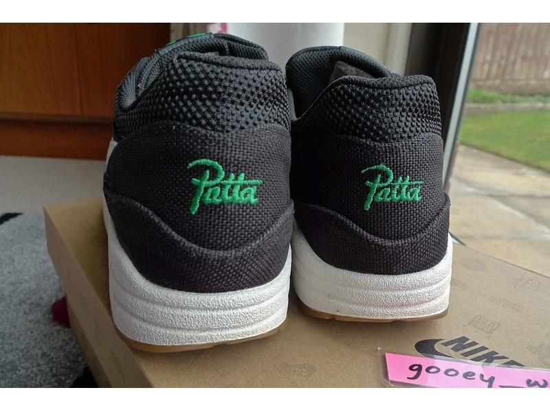 new style 9c564 41b30 nike air max 1 patta lucky green