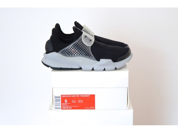<strong>Nike</strong> <strong>Sock</strong> <strong>Dart</strong> <strong>x</strong> <strong>Fragment</strong> Design Black Cement <strong>Oreo</strong> 728748-001 US5 - UK4.5- EUR37.5 - photo 1/1