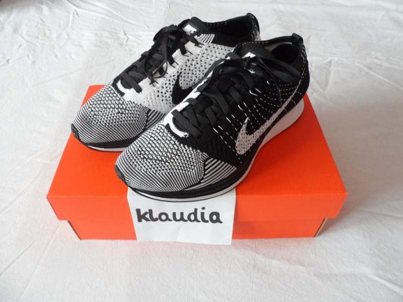 817ae8a43ab07 Nike Flyknit Racer Black White Black Tongue endeavouryachtservices.co.uk