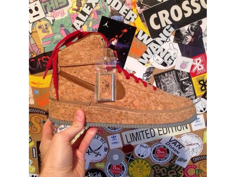 quality design 93a73 bb3ac Nike air force one mid premium cork ID size 9us new with box - photo 1 ...