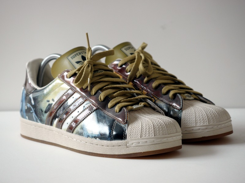 Adidas 35th Anniversary Bad Boy Edition Superstar Series #20 P