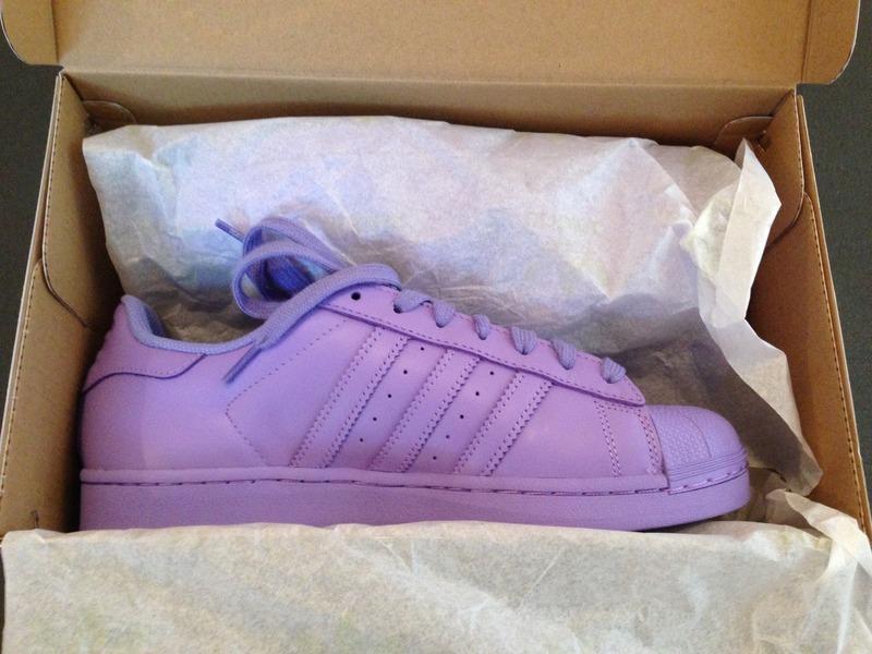 light flash purple adidas superstar