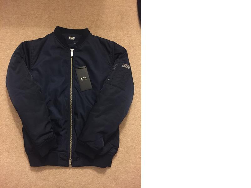 Kith classics astor ma 1 jacket black