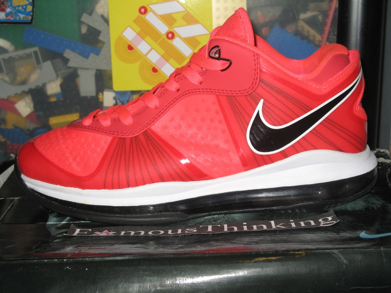 lebron 8 low red - photo #45