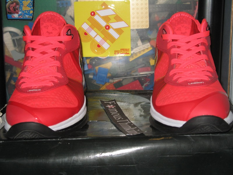 lebron 8 low red - photo #39