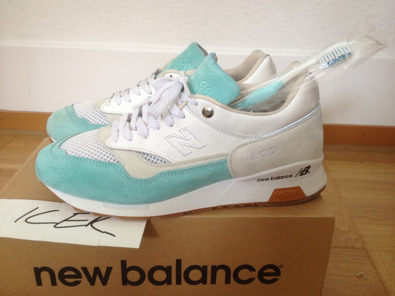 new balance 1500 toothpaste mint