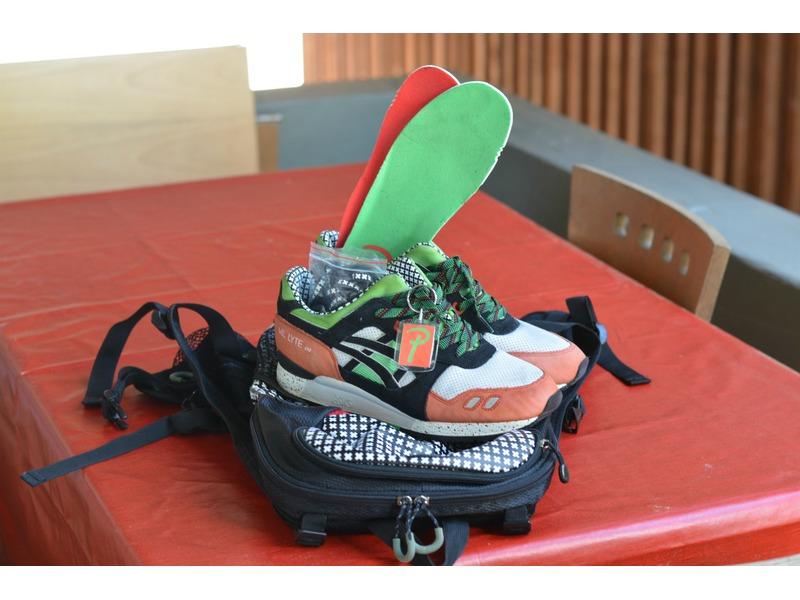 asics backpack Green
