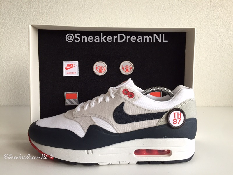 nike air max 1 x patch pak staal groen