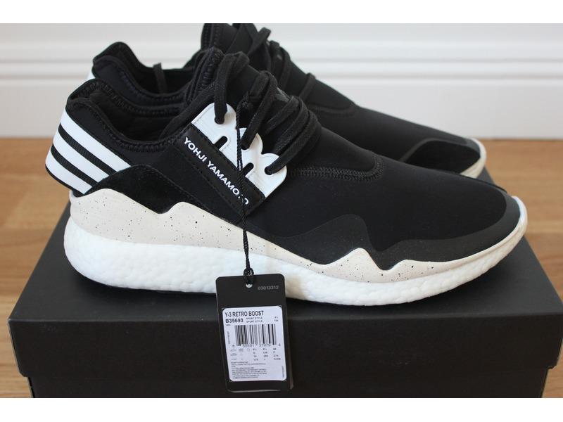brand new 35ff3 3c68b Adidas Y3 Retro Boost Black
