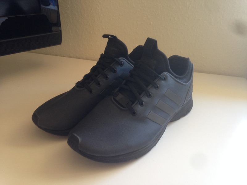 adidas zx flux black metallic copper womens trainers s79877 nz