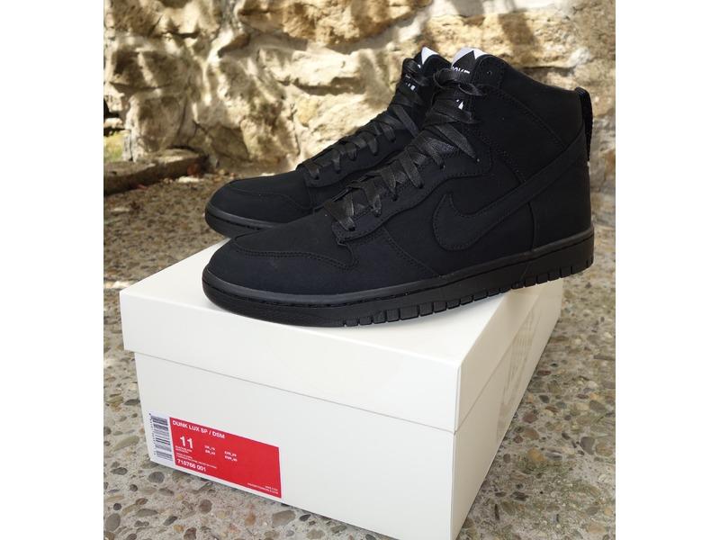 bb14a28a2 ... Nike Jordan Lab Dunk High x DSM Dover Street Market Black EUR45 UK10 -  photo ...