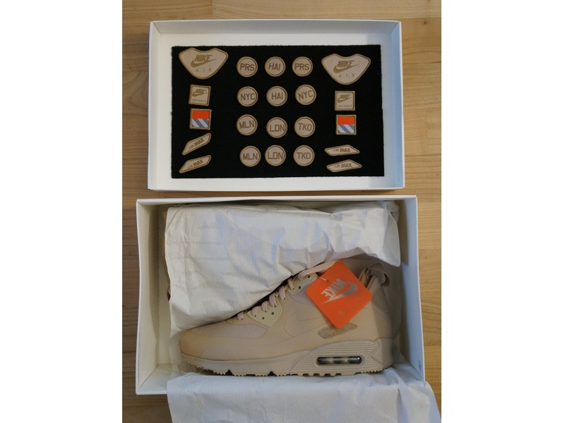 air max 90 sneakerboot sp patch sand