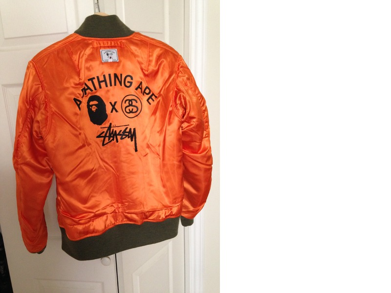 Stussy Ma 1 Jacket