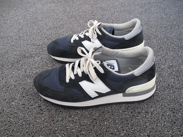 <strong>New</strong> <strong>Balance</strong> <strong>990</strong> Navy Size 9 - photo 1/4