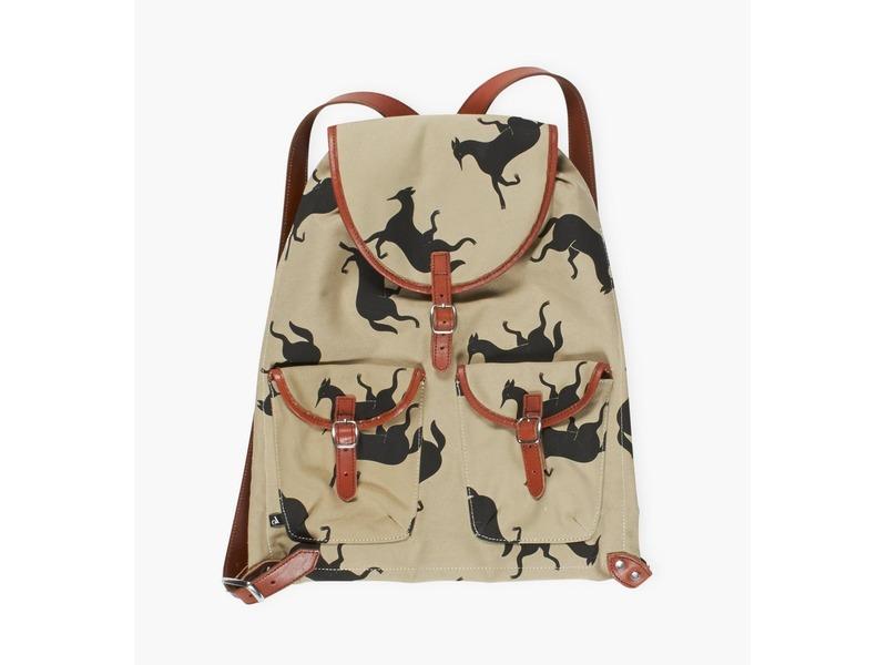 asics backpack Brown