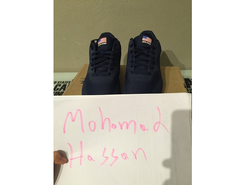 nike air max 90 hyperfuse independence day red navy white QS patta atmos - photo 1