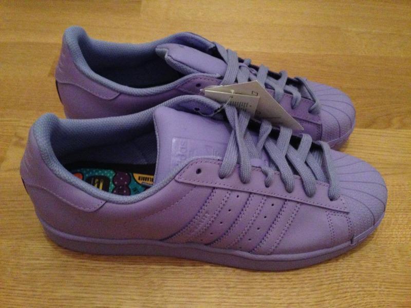 adidas superstar light purple