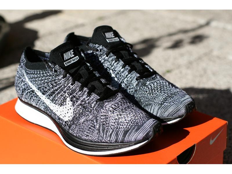 online store 1f504 2b62e ... Nike Flyknit Racer Black White Oreo EU 38 Boost Multicolor HTM Woven  Superstar Huarache ...