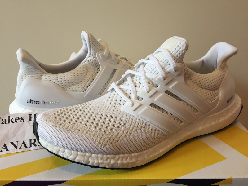 Adidas Ultra Boost White Silver Metallic