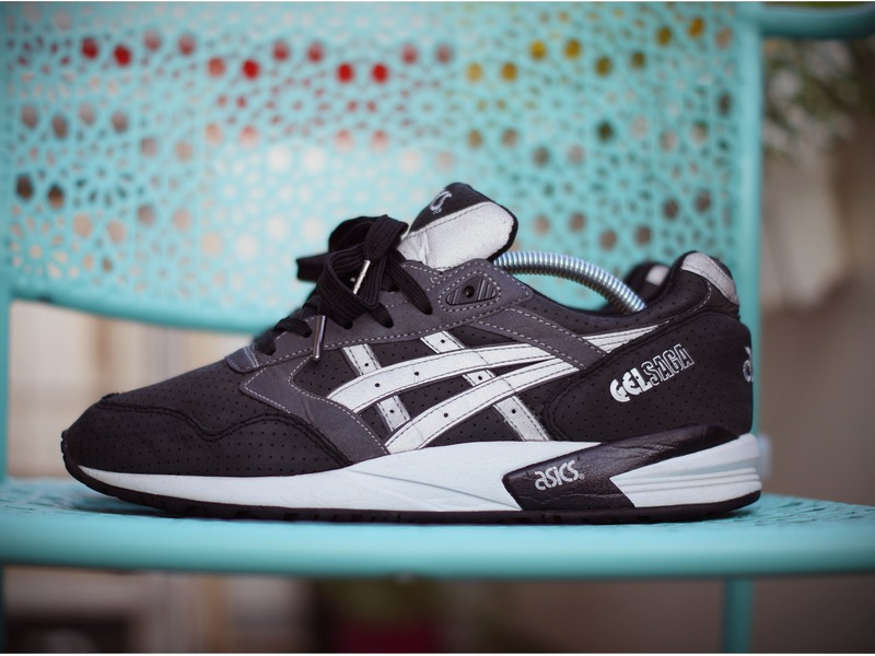 The Asics Gel Saga Returns In A Clean Black/Light Grey Colorway