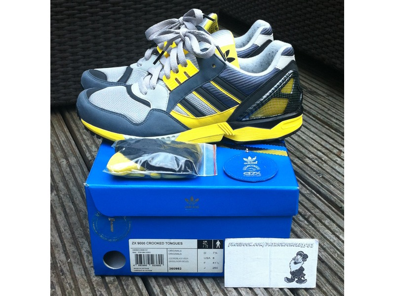 Adidas Zx 9000 Crooked Tongues