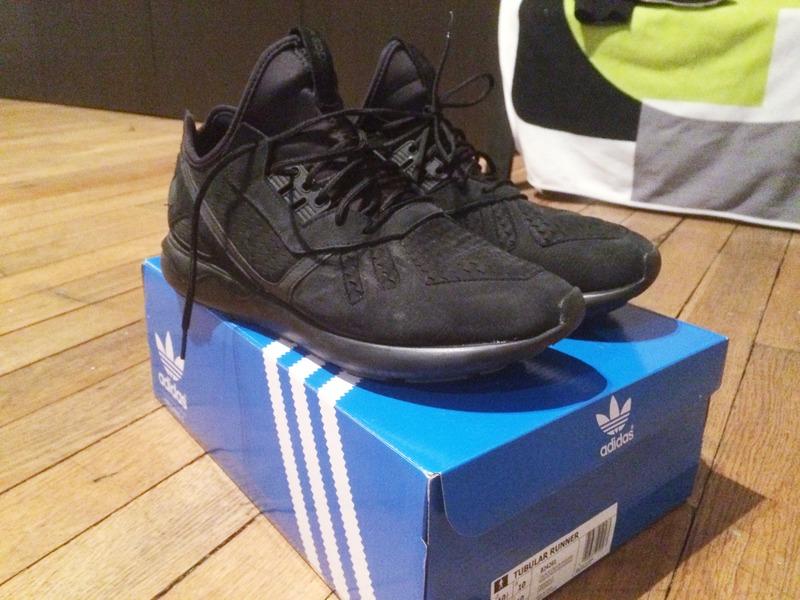 Adidas Tubular Black Suede