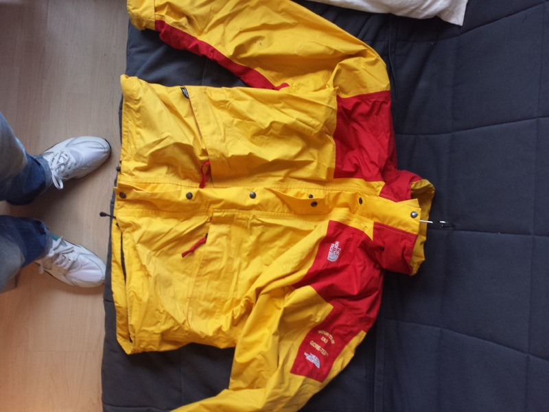 a1bea3f0d wholesale the north face gore tex ski jacket yellow 1481e 357e6