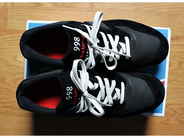 <strong>New</strong> <strong>Balance</strong> 998 Black / Red - photo 1/5