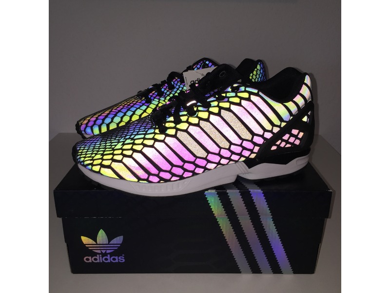 b5edfdfa37552 ... Adidas ZX Flux Xeno - Xenopeltis Pack - Black - US 9   EU 42 2 ...