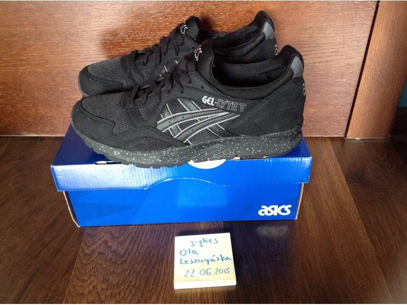 asics gel lyte 5 black speckle footlocker