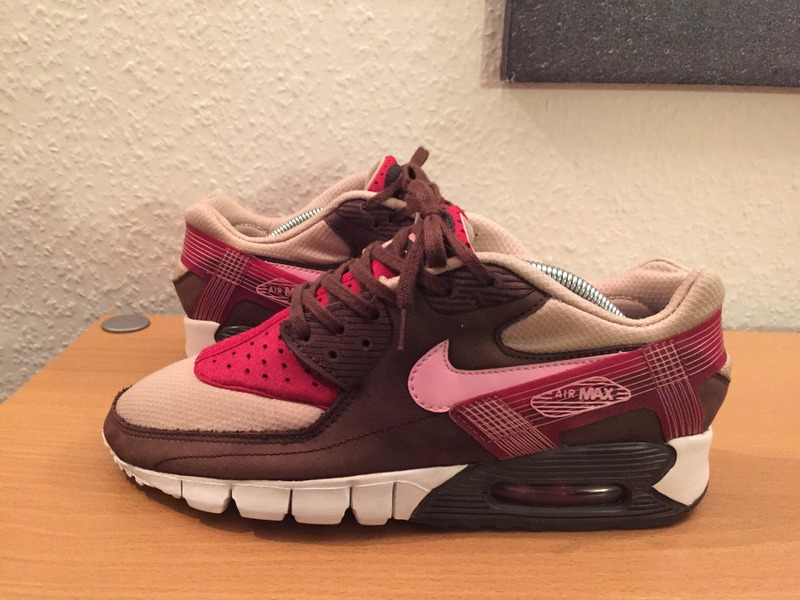 innovative design 6b203 334b7 Air Max 90 Huarache Current DQM Bacon (patta, supreme .