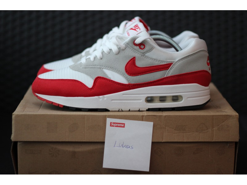 Nike Air Max Automne 2009 1 Og Rouge