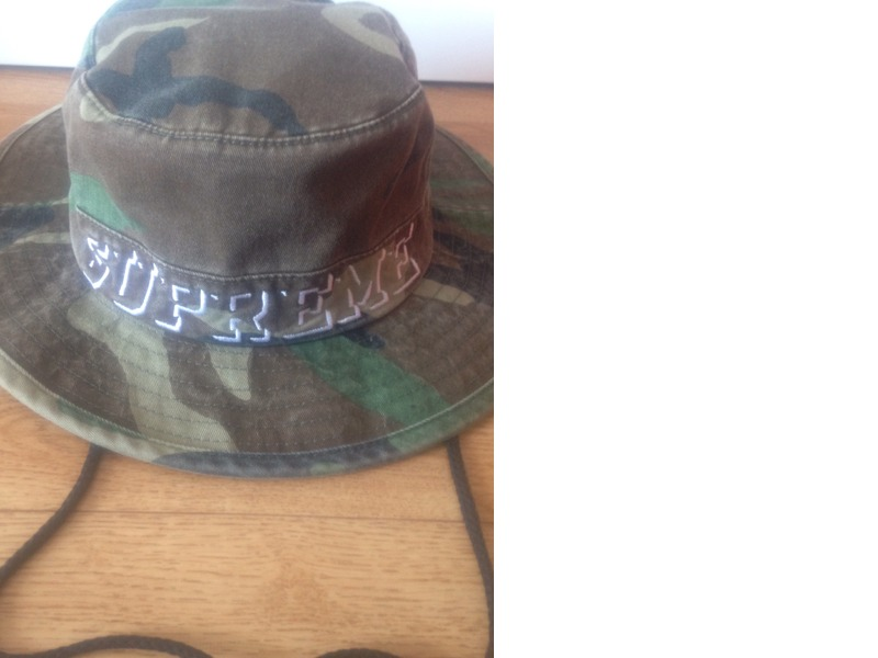 BUCKET HAT SUPREME - CAMO - S/M (#192118) from Balkanos at ...
