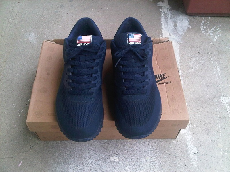 air max 90 independence day navy