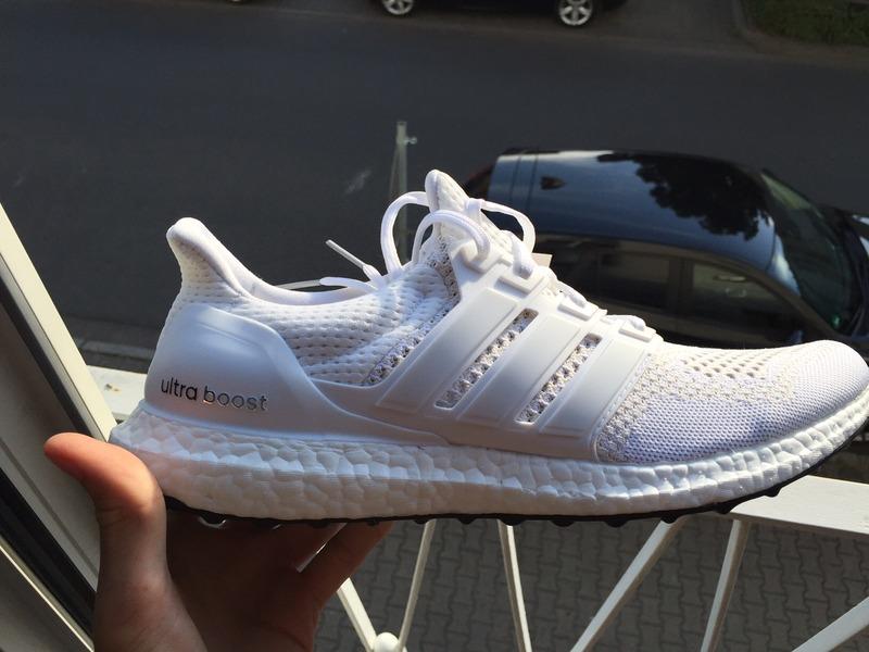ultra boost m white/white Adidas