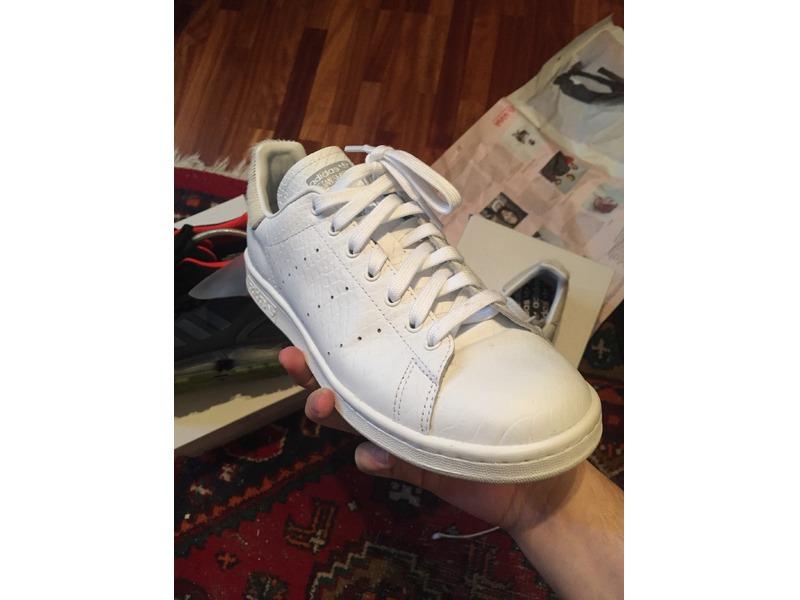Adidas Stan Smith White Pony Hair
