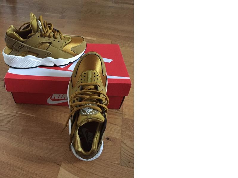 brand new f70f2 9d8c0 Nike Huarache Bronzine Deutschland