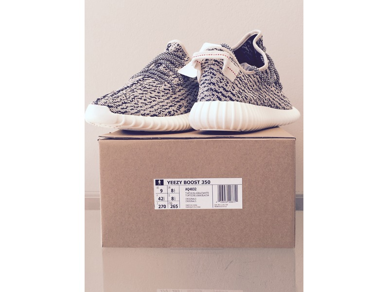 Adidas yeezy 350 boost DS size EU 42 2/3 US 9 free shipping to ...