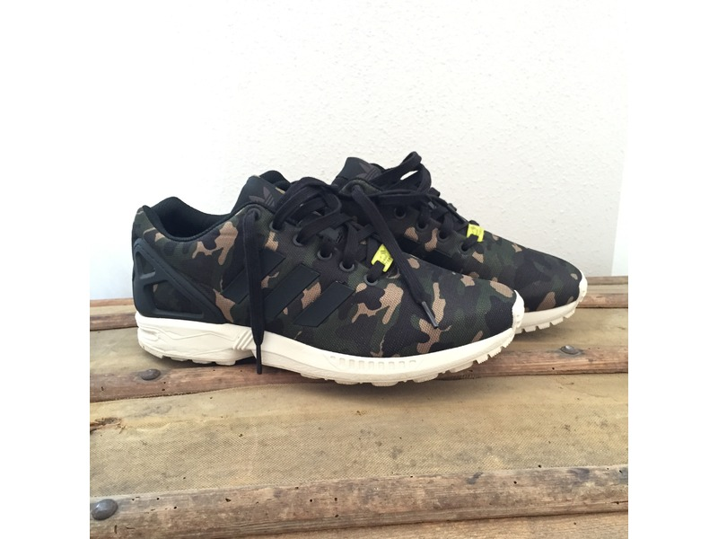 "save off b3063 9effa adidas ZX Flux ""Leopard Sneakers Magazine"