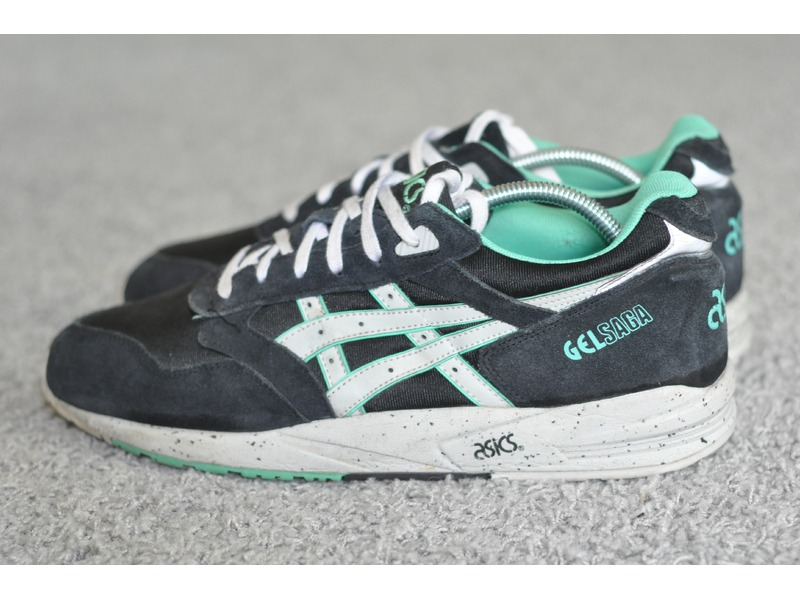 Hot Sales Asics Gel Saga Black/White/ Techstart.org.uk