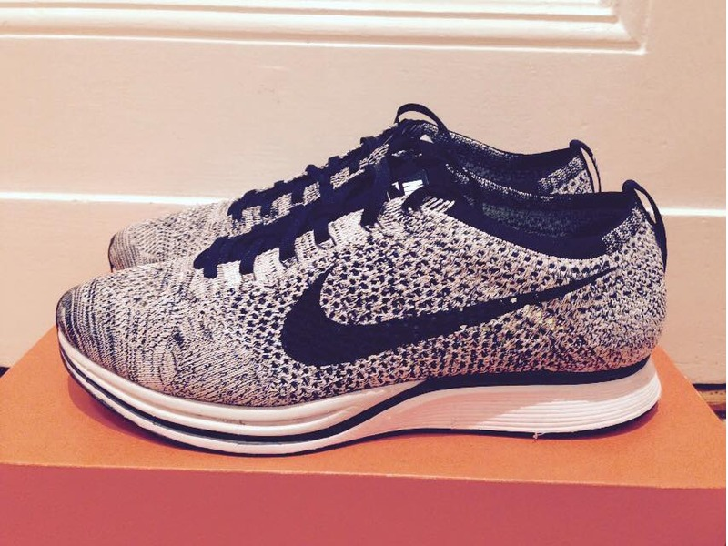 timeless design f2ce1 a2435 ... coupon code nike flyknit racer oreo 1.0 size us95 with og box photo 1  29c88 84a4a