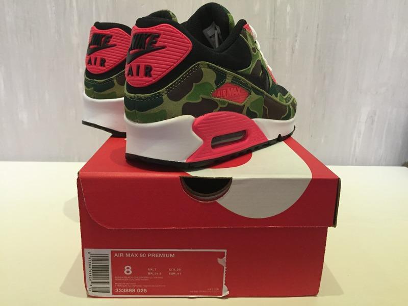 sports shoes 33b5a 37ca4 ... buy nike air max 90 prm atmos duck camo infrared us8 photo 56 b2903  a0487