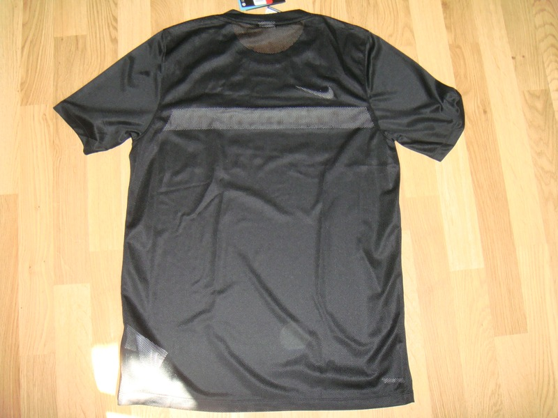 chanel jersey. nike chanel dry fit authentic football jersey shirt new size large black limited edition - photo