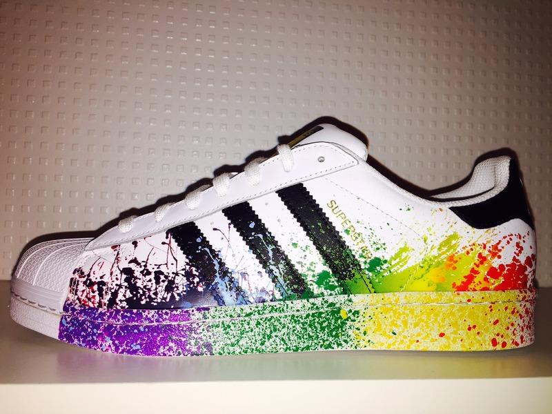 adidas superstar arcobaleno