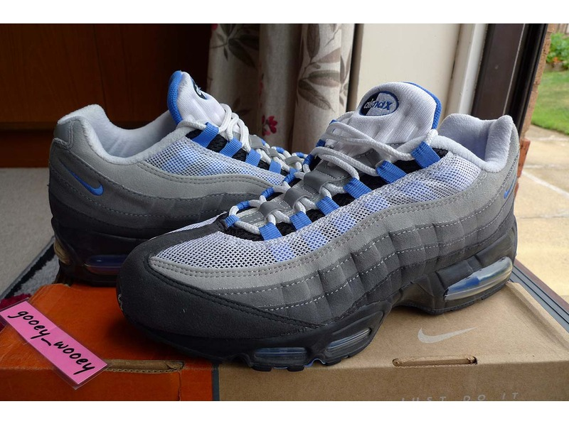 Nike Air Max 95 Crystal Blue Nike Air  4d965a9b18