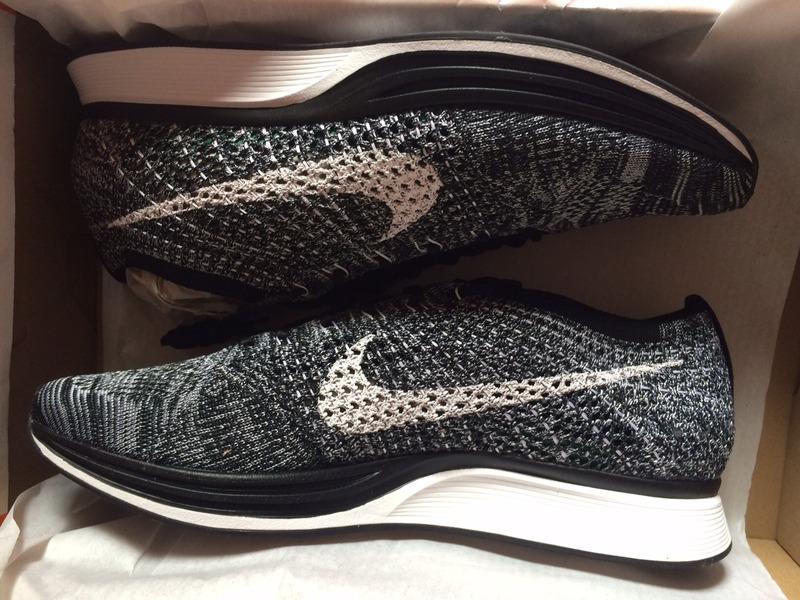 sklep dyskontowy zniżka na sprzedaż online Nike flyknit racer oreo 2.0 größen 42 / 44,5 / 45. neu ds schwarz weiß  black white