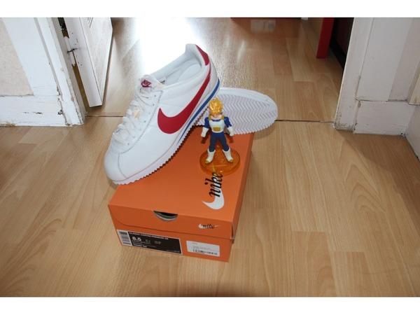 Nike Classic Cortez OG White Red ( Forrest Gump) QS - photo 1/2