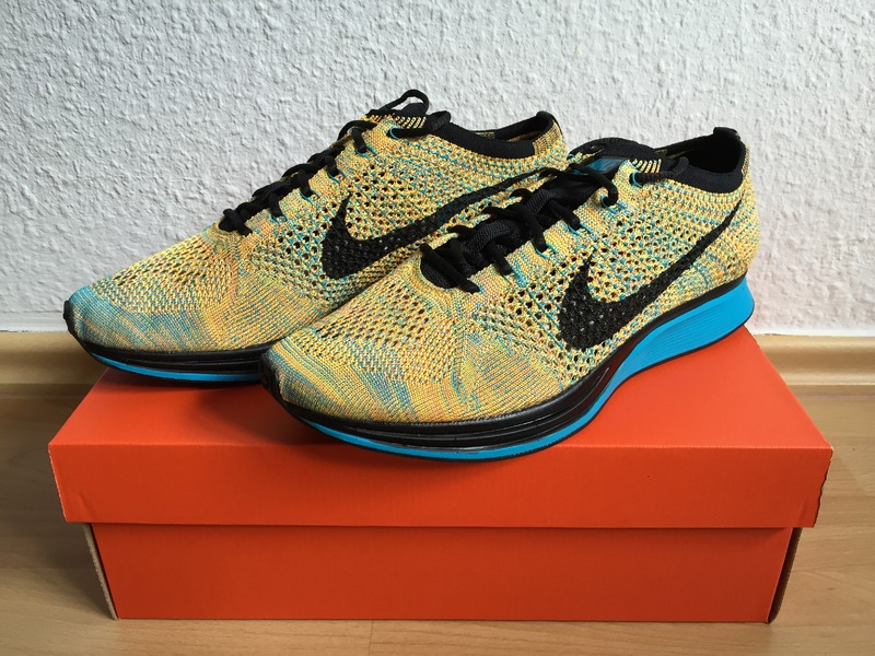 d6376f969a01d ... where to buy nike flyknit racer sherbet bright citrus black lagoon us95  ds 6f9c8 6071d