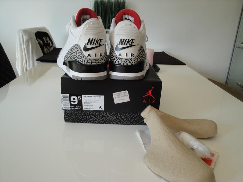 air jordan white cement 3 88 box