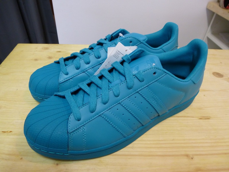 adidas superstar color lab green